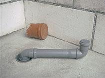Airfit Abwasser-Innen-Reduzierstücke schneller Einbau auf der Baustelle