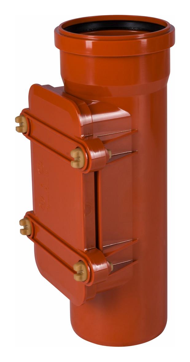 KG Rohr Reinigungsrohr DN 110 125 160 200 zur Auswahl orange